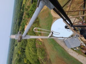 2m Antenna. Photo courtesy Dennis KR8U.